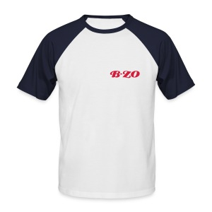 B-ZO : loose attitude - T-shirt baseball manches courtes Homme