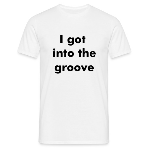 80's groove - Men's T-Shirt