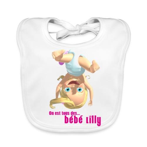 On est tous des Bebe Lilly - Bavoir bio Bébé