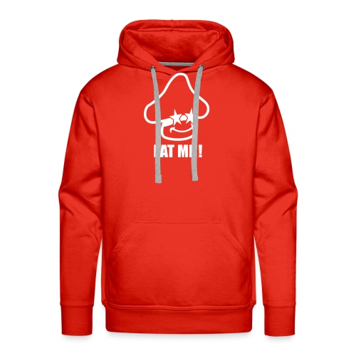eatme hoodie red - Mannen Premium hoodie