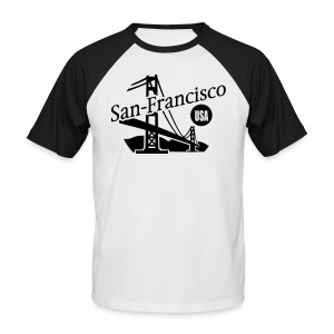 San Francisco - Men's Baseball T-Shirt