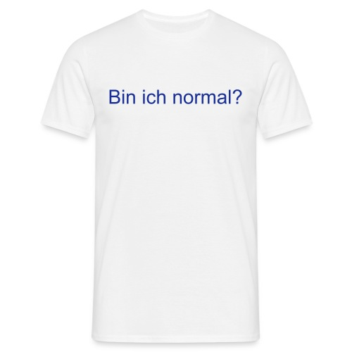 Normal - Männer T-Shirt