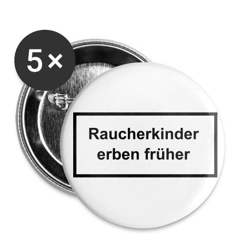 Raucherbutton - Buttons groß 56 mm