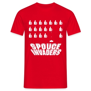Spouce Invaders - T-shirt Homme
