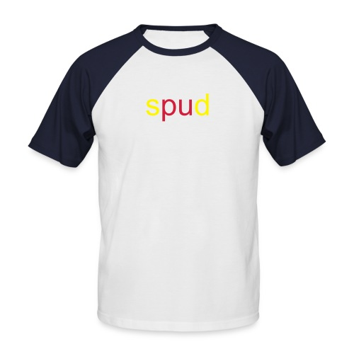 Spud shortsleeve - Men's Baseball T-Shirt