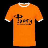 Tee shirts ~ Tee shirt contraste Homme ~ Poucy contre les vampires