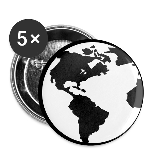 World Badges - Buttons small 25 mm