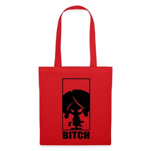 bitchredblk - Tote Bag