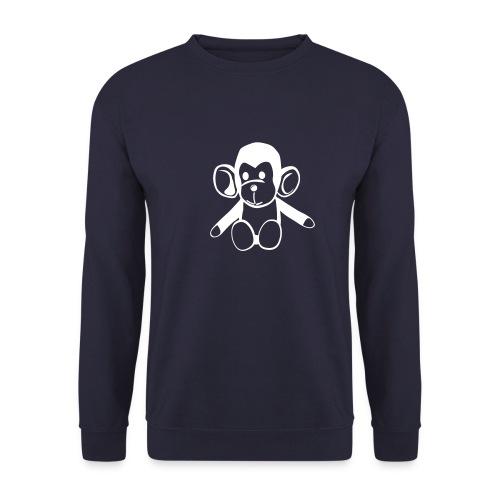 Sweatshirt med abehovede - Men's Sweatshirt