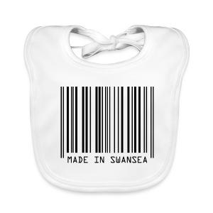 Made in Swansea - Baby Organic Bib