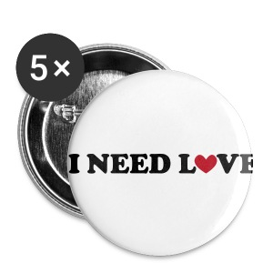 Buttons - Middels pin 32 mm