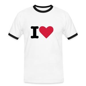 I L JL Shirt - Mannen contrastshirt