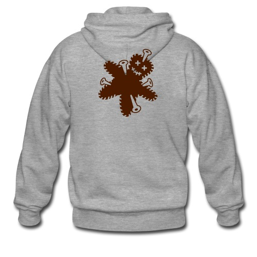 Gingerbread Hoodie - Men's Premium Hooded Jacket