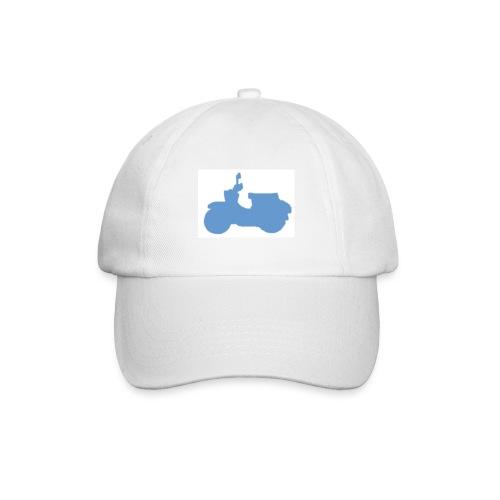 Cap mit Schwalbe (weiß/blau) - Baseballkappe