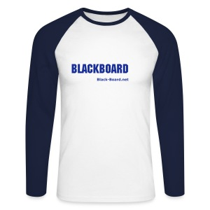 Blackboard - the virtual light - Männer Baseballshirt langarm