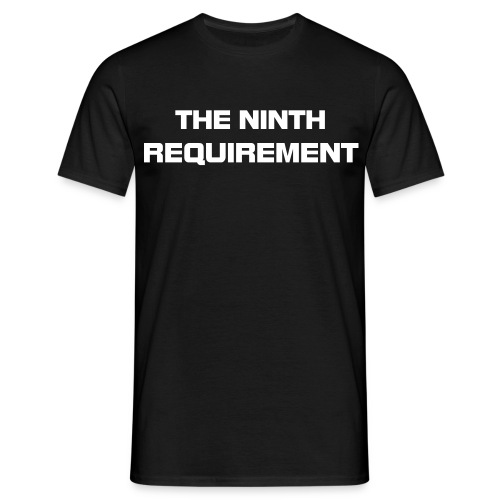 Ninth Requirement Plain - Men's T-Shirt