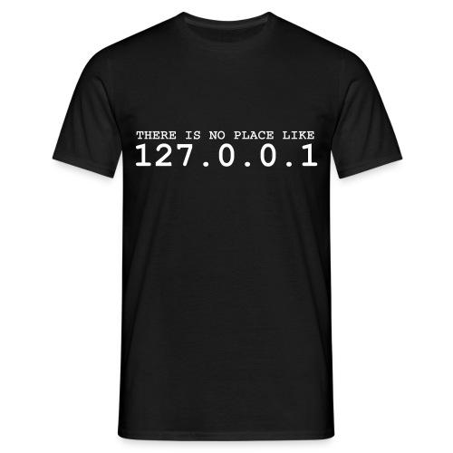 LAN-Wear / 127.0.0.1 - Männer T-Shirt