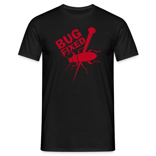 LAN-Wear / BugFixed - Männer T-Shirt