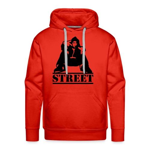 street - Premium hettegenser for menn