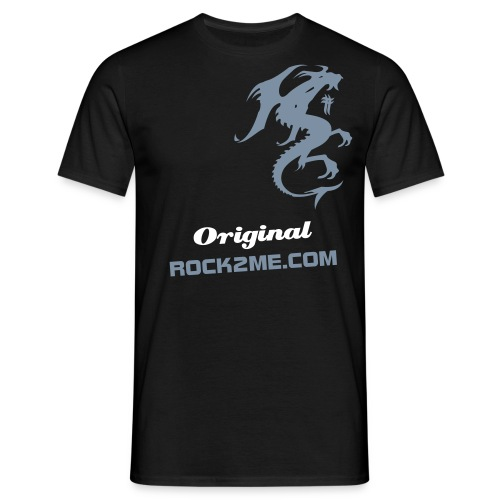 Original Dragon - Noir - T-shirt Homme