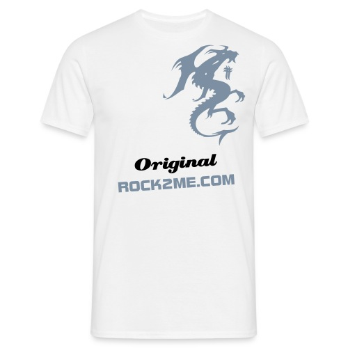 Original Dragon - Blanc - T-shirt Homme