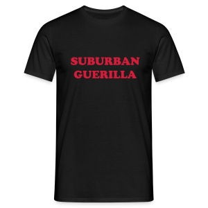 Suburban Guerilla Black Tee - Men's T-Shirt