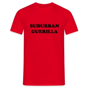 Suburban Guerilla Red Tee - Men's T-Shirt