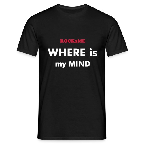 Where is my mind - Noir - T-shirt Homme