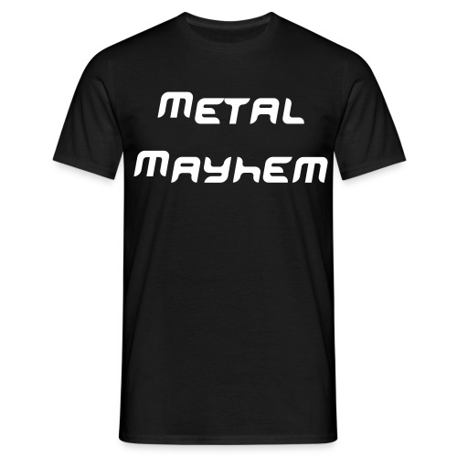 Death To Fake Metal - Men's T-Shirt