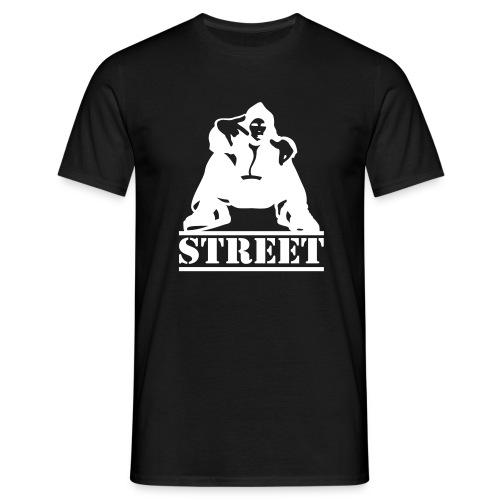 Adult Street B & W - Men's T-Shirt
