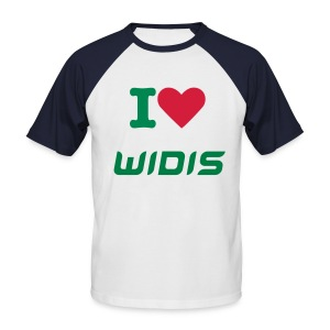 I Love Widis - T-shirt baseball manches courtes Homme