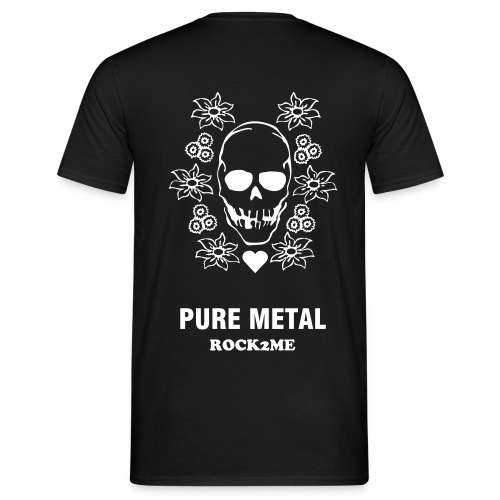 I love Pure Metal - T-shirt Homme