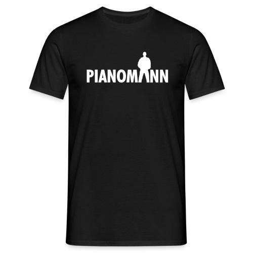 Pianomann - Männer T-Shirt
