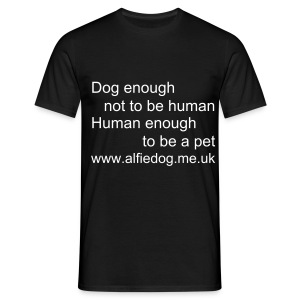 Dog enough - Men's T-Shirt
