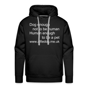 Dog enough - Men's Premium Hoodie