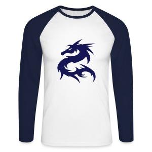 dragon longsleeve - Men's Long Sleeve Baseball T-Shirt