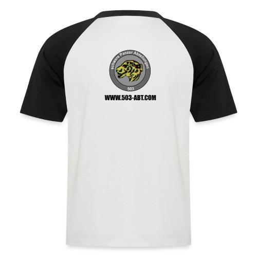 Camiseta béisbol manga corta hombre - Emblema detras y web