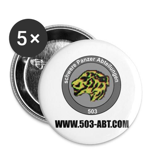 Chapa grande 56 mm - emblema y web