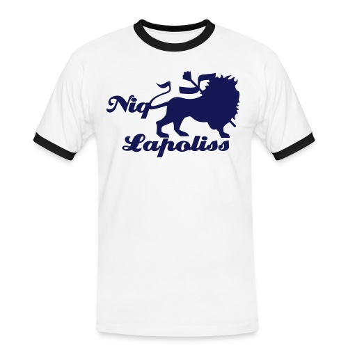 Lion Fight  - T-shirt contrasté Homme