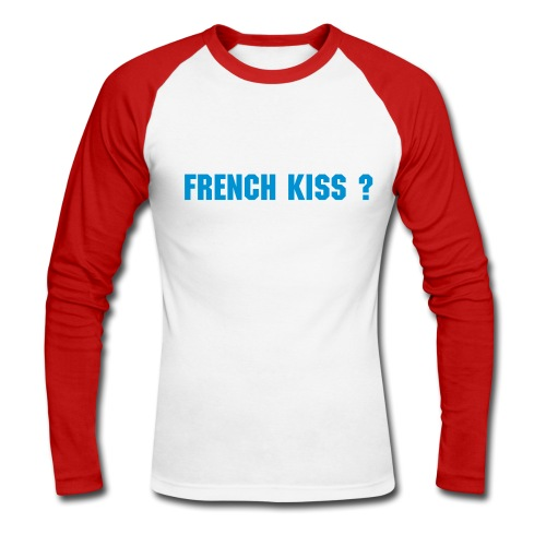 French kiss manches longues - T-shirt baseball manches longues Homme