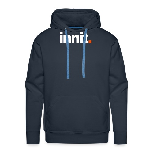 innit navy hood - Men's Premium Hoodie