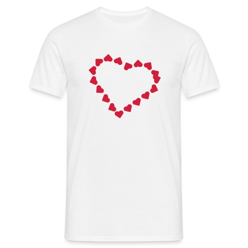 Heart of hearts - Men's T-Shirt