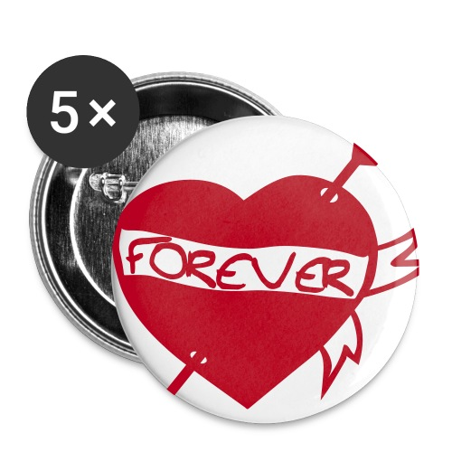 Forever Badges - Buttons small 1''/25 mm (5-pack)