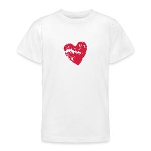 Heart - Teenage T-shirt