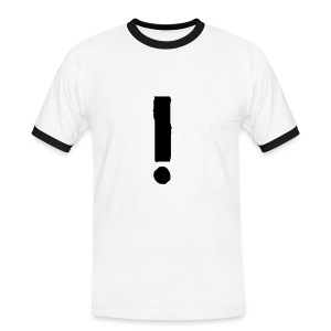 Exclamation mark tee. - Men's Ringer Shirt
