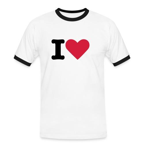 J'aime - T-shirt contrasté Homme