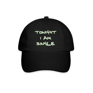 Svart caps - Baseballcap