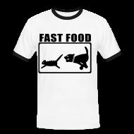 T-Shirts ~ Männer Kontrast-T-Shirt ~ Artikelnummer 4197653
