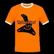 T-Shirts ~ Männer Kontrast-T-Shirt ~ Artikelnummer 4197656