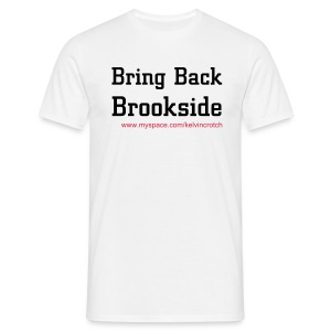 Brookside white - Men's T-Shirt